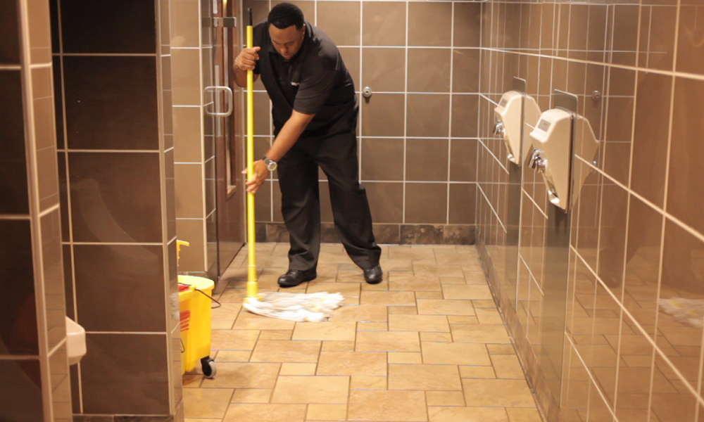 Bathroom or the Toilet Be Clean - Keen Commercial Cleaning