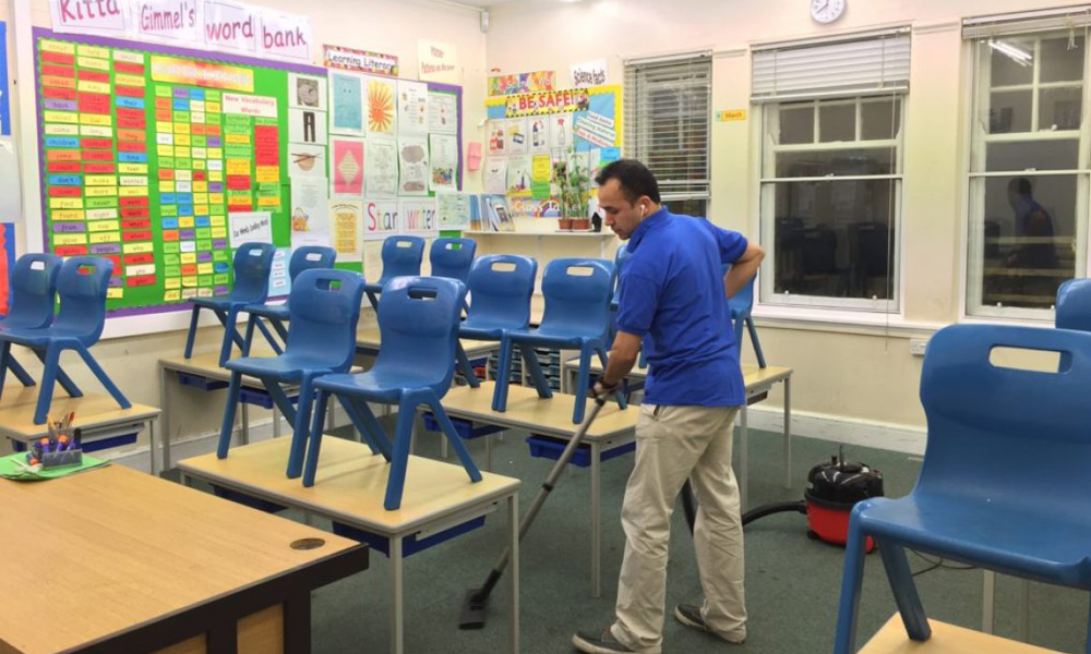 Healthy and Clean School Environment - Keen Commercial Cleaning