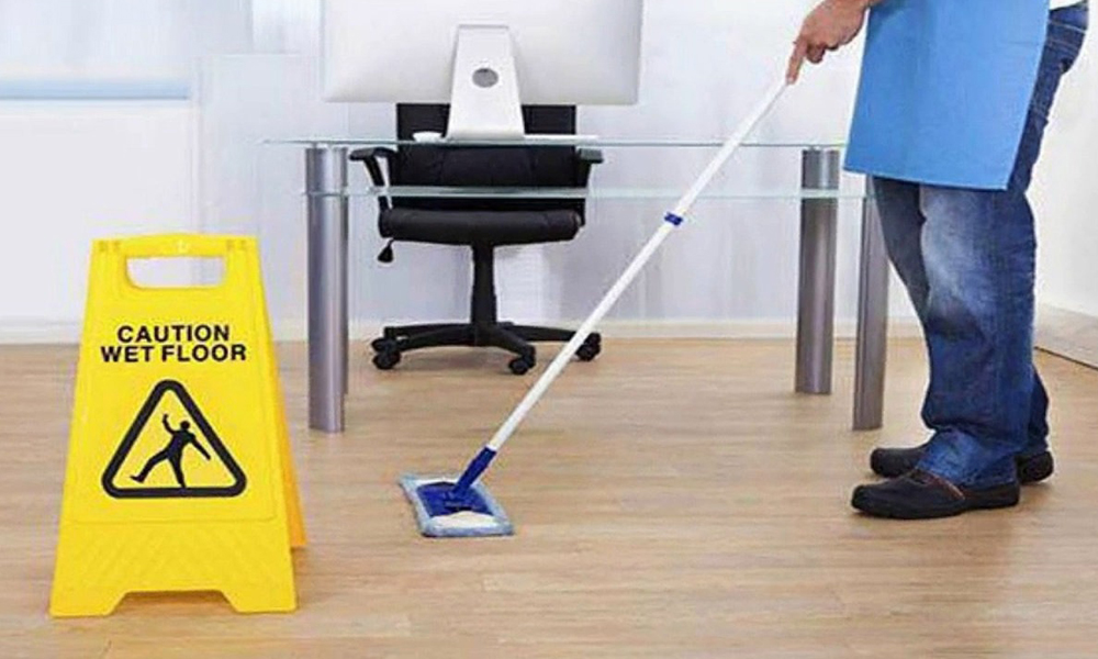 Carrying out Office Cleaning - Keen Commercial Cleaning